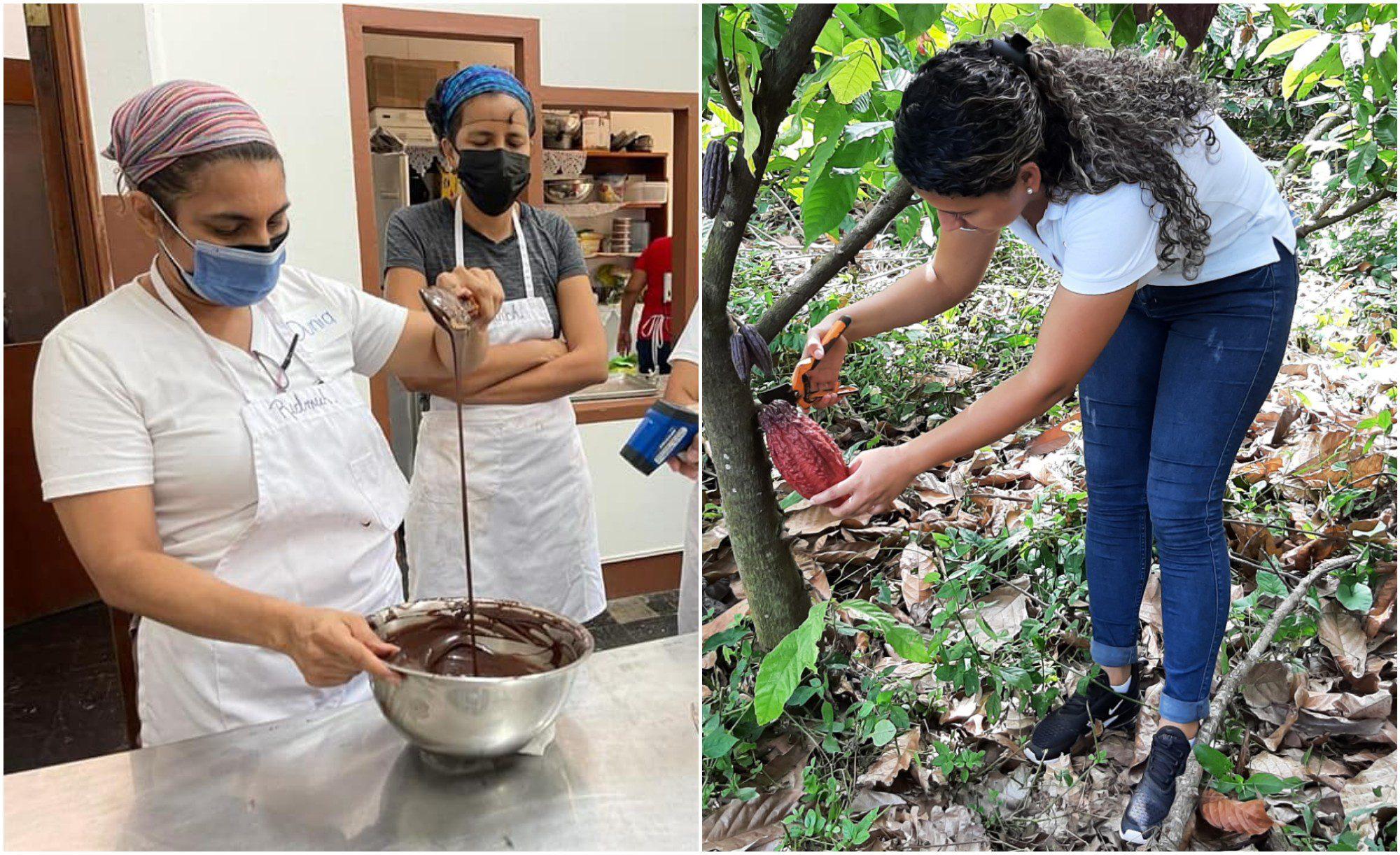 Redmuch brinda espacios a mujeres productoras de cacao