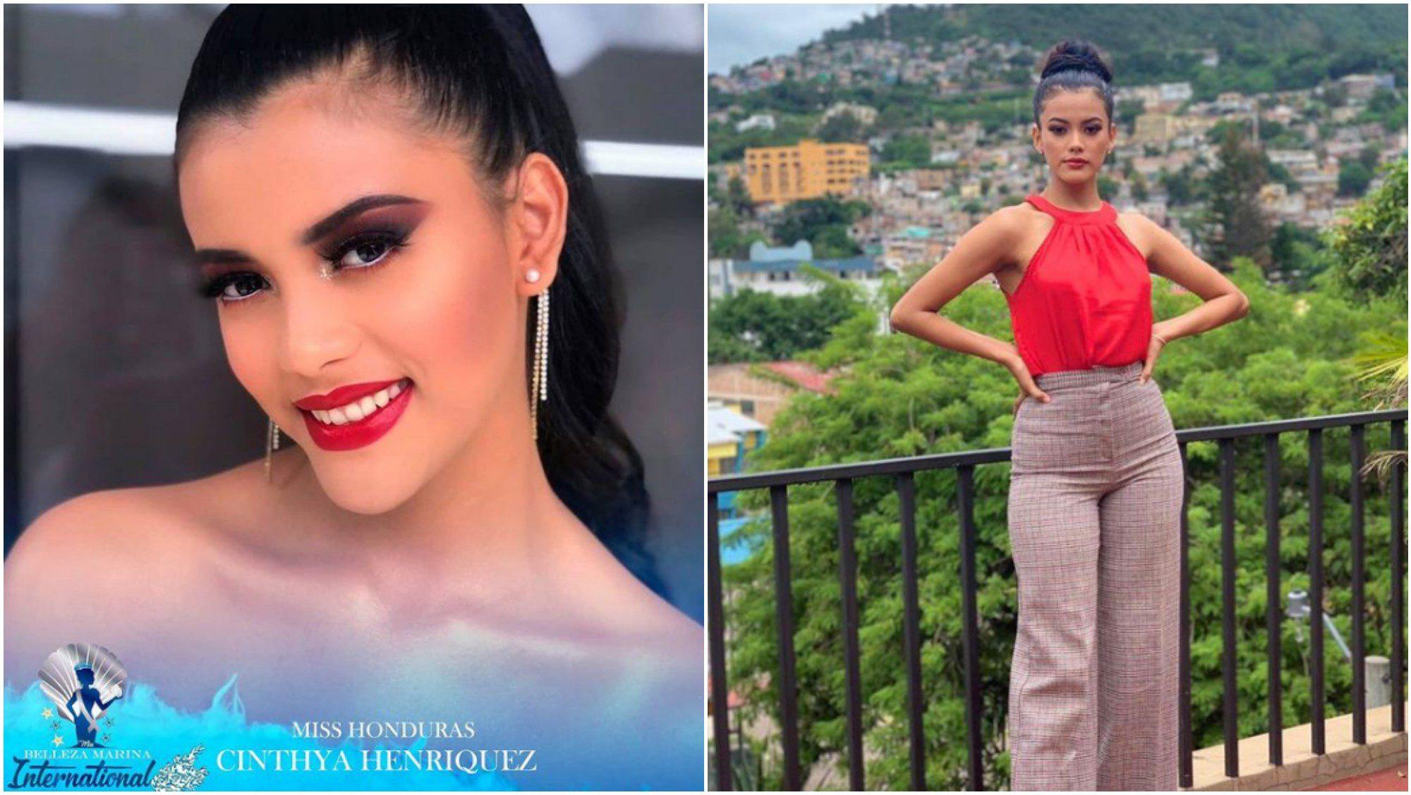 Hondureña participará en Belleza Marina Internacional 2021