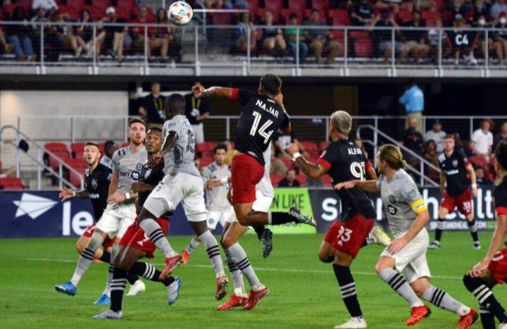 Hondureño Andy Najar anota su primer gol con el DC United de la MLS