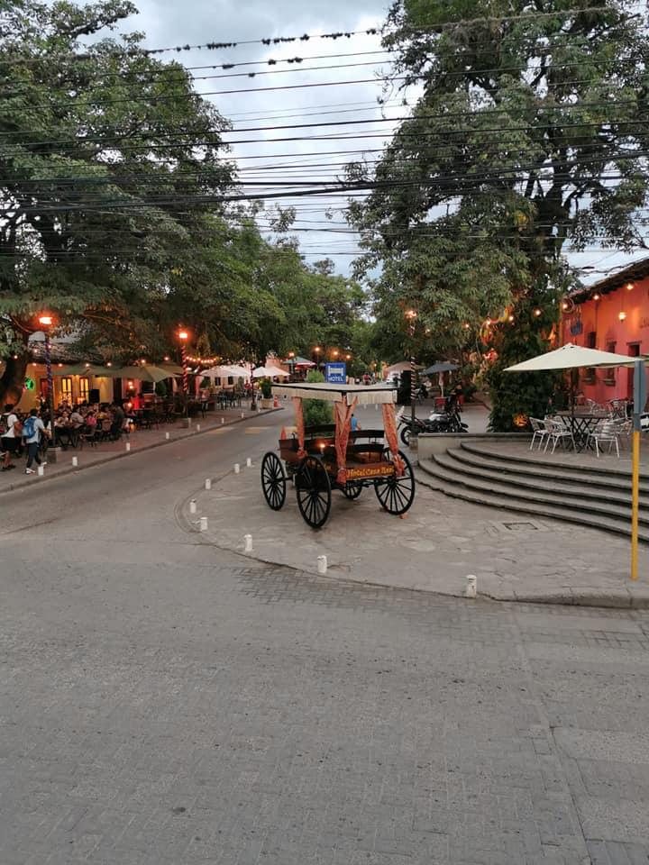 Paseo Ronda de La Alameda, ciudad colonial de Comayagua