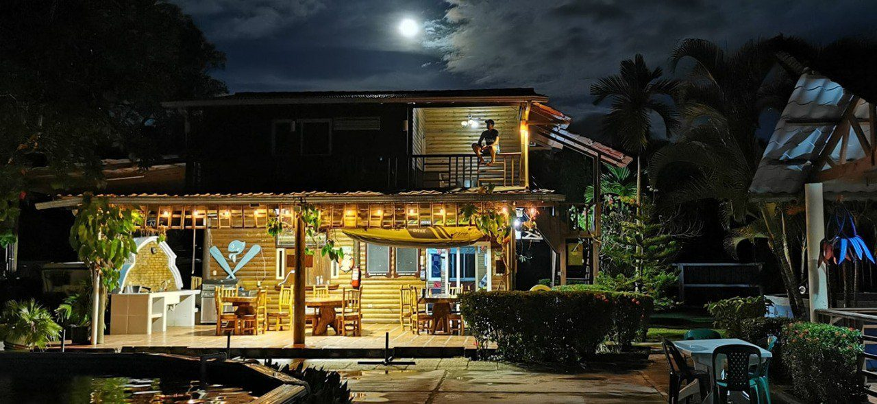 Chachahuala Beach hotel ecológico en Omoa