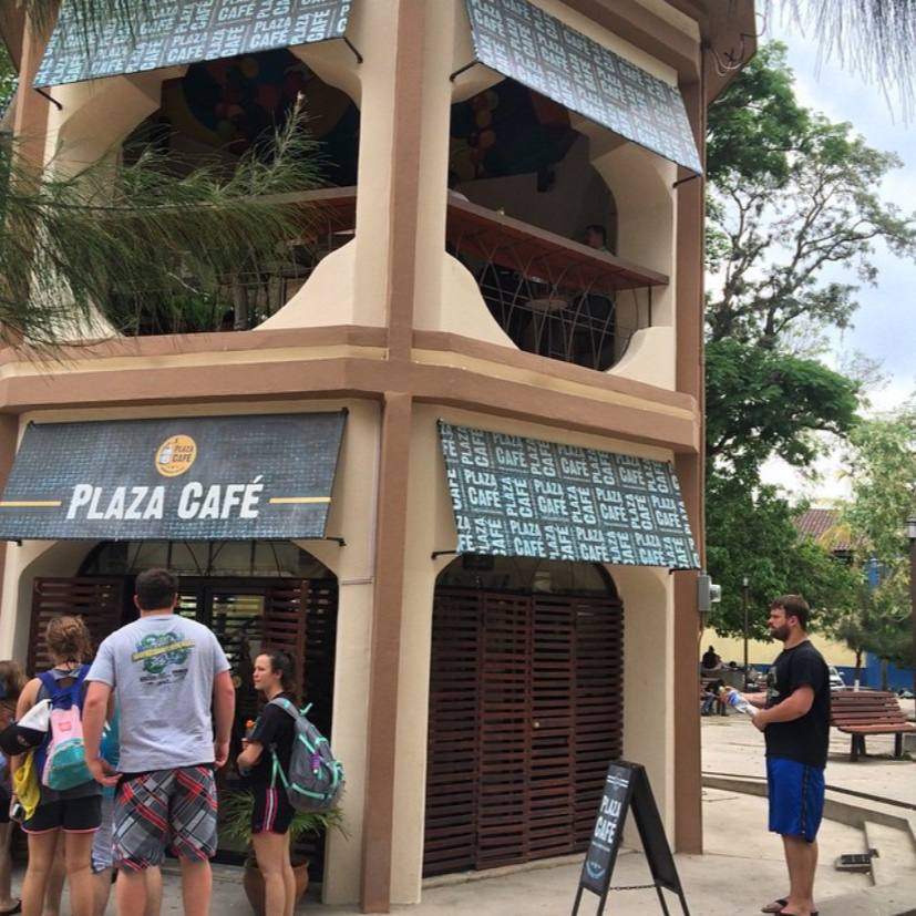 Plaza café en Honduras, un lugar para una buena taza de café