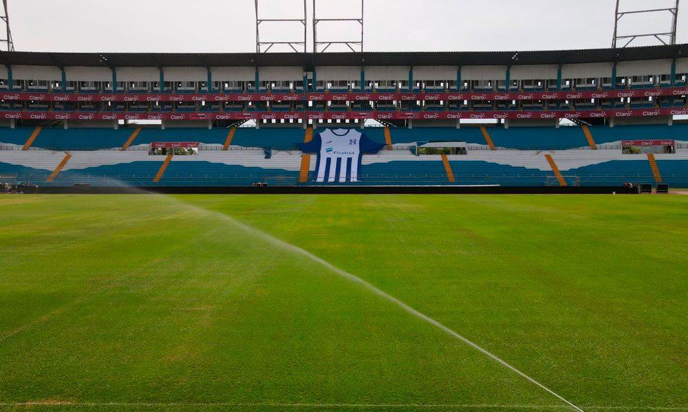 Se reporta listo el Olímpico para el partido Honduras vs Estados Unidos