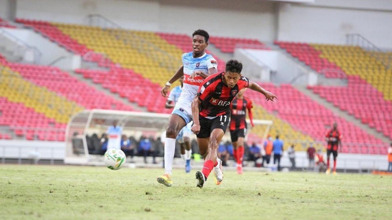 Brayan Moya termina pretemporada con gol en el 1° de Agosto de Angola