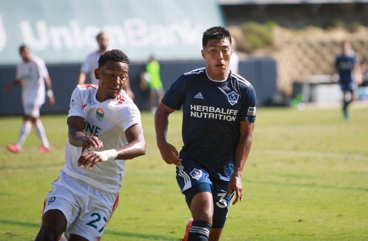Douglas Martínez anota su primer gol con el San Diego Loyal de la USL