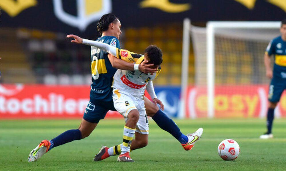 Denil Maldonado sigue sumando minutos con el Everton de Chile