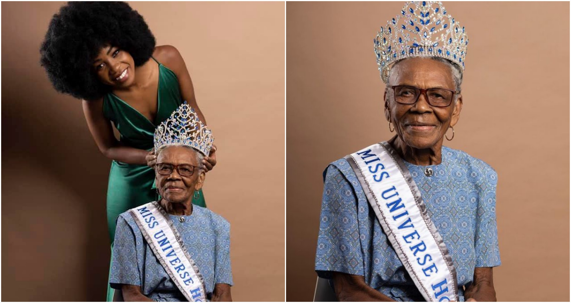 Rose Meléndez comparte unas fotografías con su abuelita