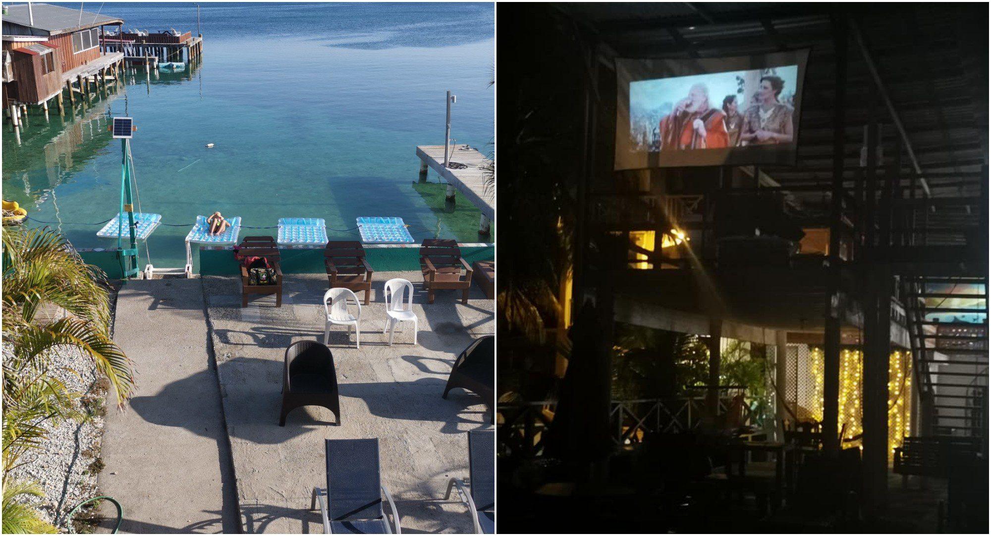 Aquacinema, la nueva atracción de Hotel Útila