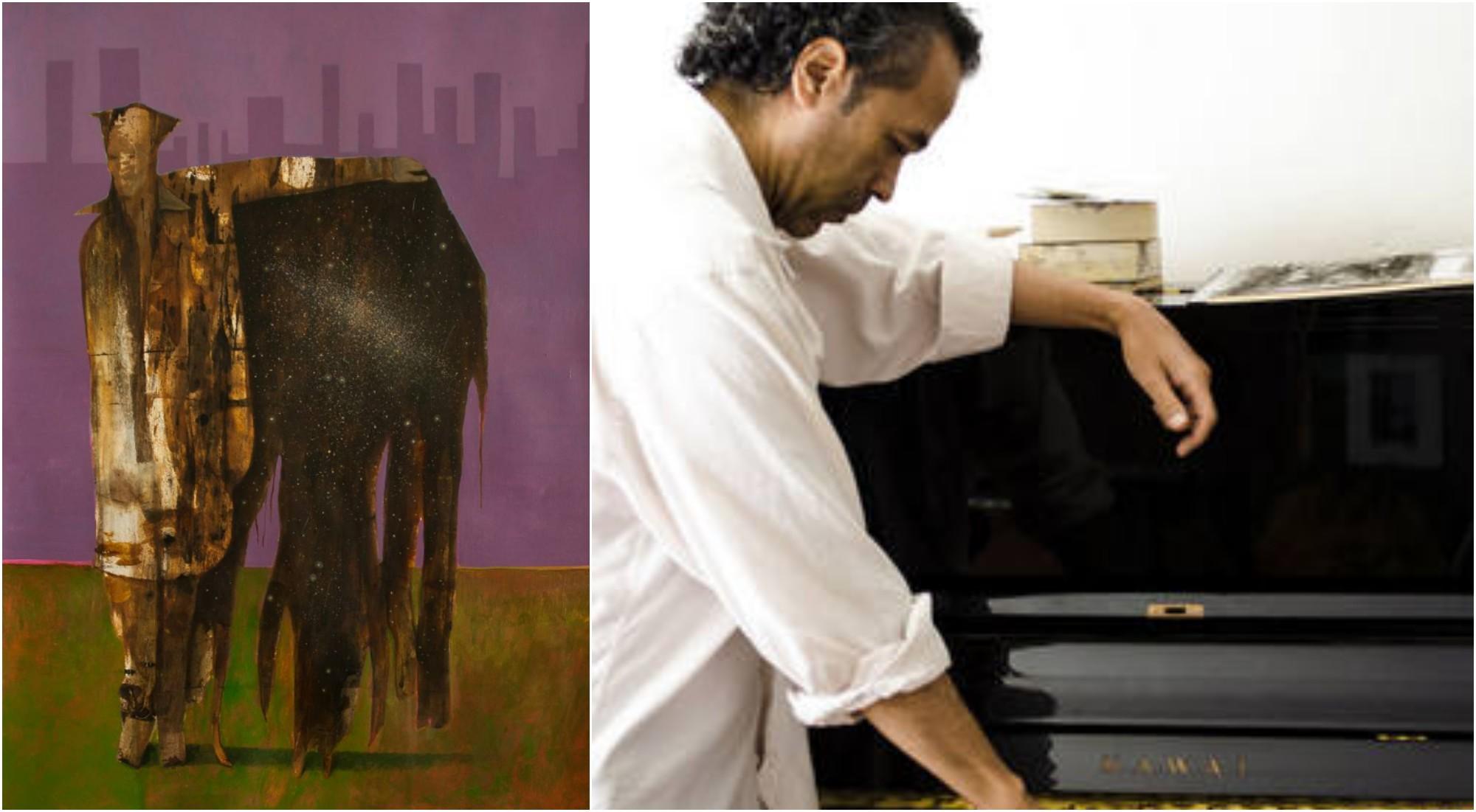 Artista hondureño Andrés Montoya, expone su arte en Estados Unidos