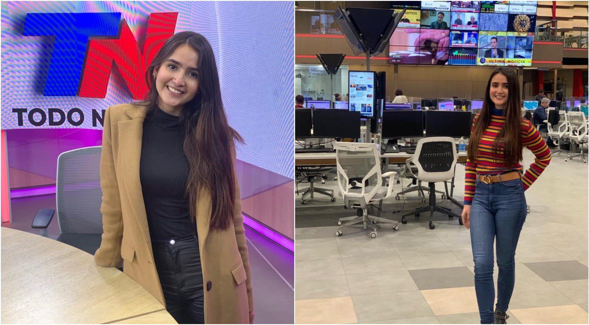 Hondureña Gabriela Galeas triunfa en Argentina como comunicadora