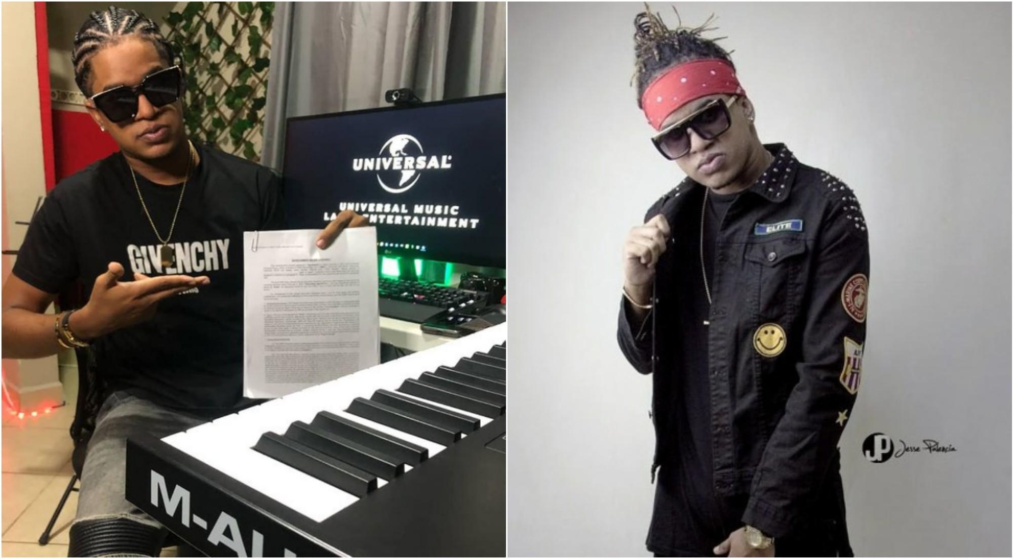 Hondureño Fresh Bodden firma con la disquera Universal Music