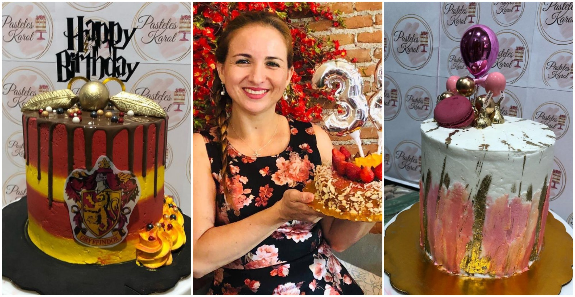Hondureña destaca con sus deliciosos pasteles en El Progreso