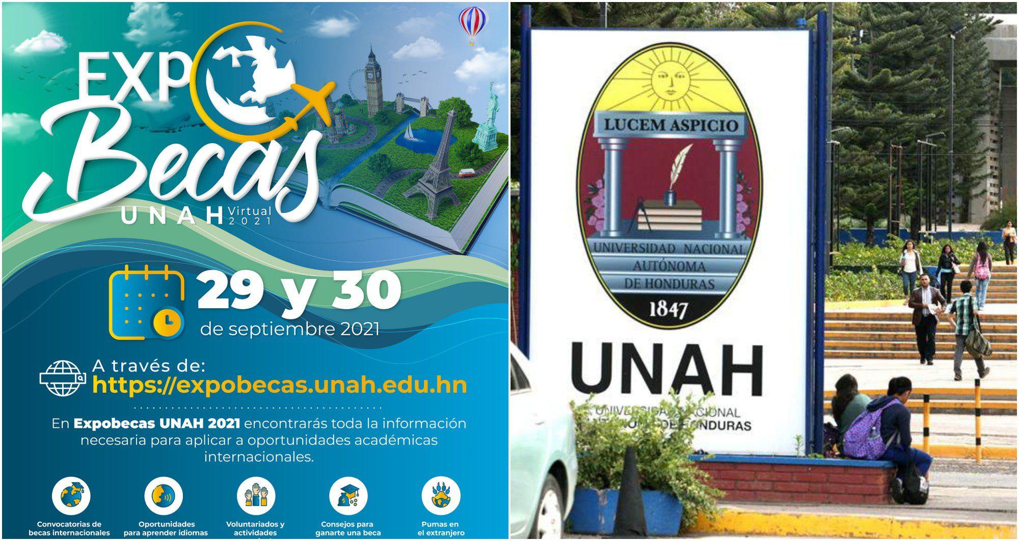 ExpoBecas UNAH 2021 será este 29 y 30 de septiembre