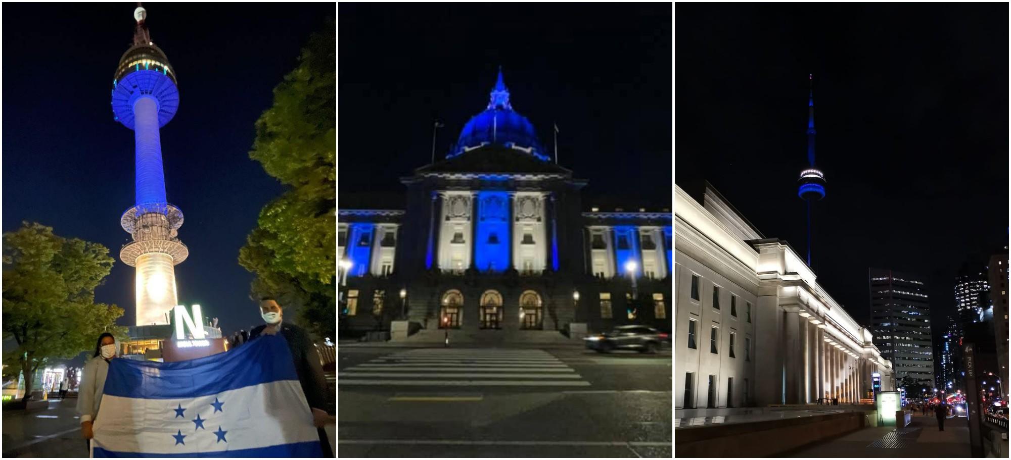El Bicentenario de Honduras se celebró por todo el mundo