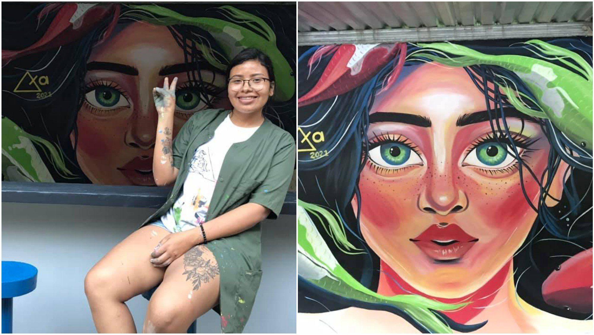 AxaArte, el emprendimiento de una talentosa hondureña
