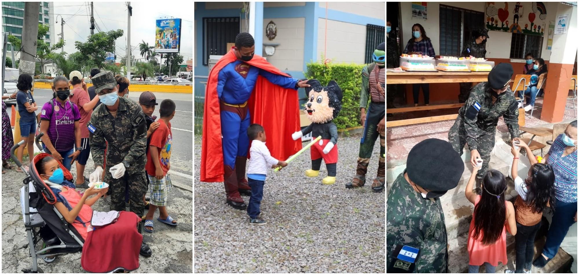 Fuerzas Armadas de Honduras celebran el Día del Niño el fin de semana