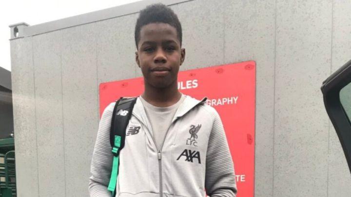 Hijo de Maynor Figueroa jugará la Champions League juvenil con Liverpool