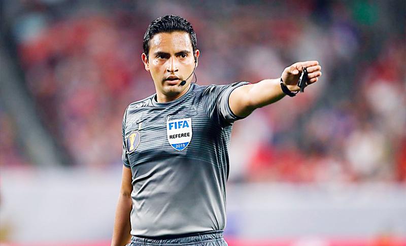 Said Martínez pitará semifinal de Liga de Campeones de la Concacaf