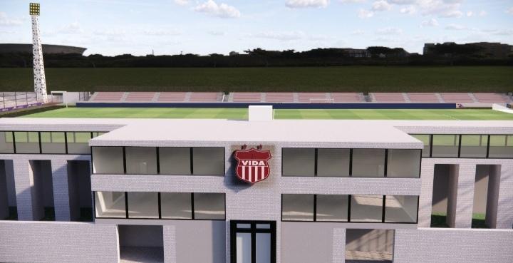 Vida presenta diseño para la construcción de su nuevo estadio