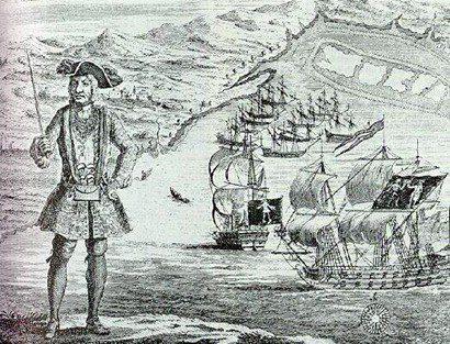 Los Piratas que atacaron La Fortaleza de Omoa