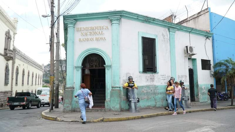 La Hemeroteca Nacional de Honduras, reliquia histórica de Tegucigalpa
