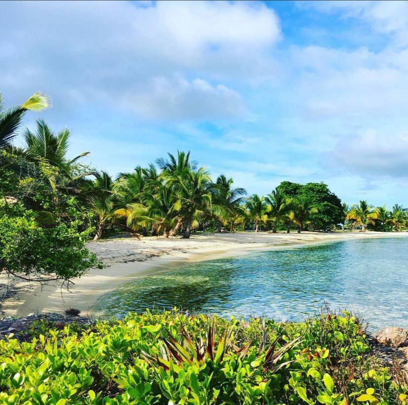 Fort Morgan Cay, isla privada en Roatán