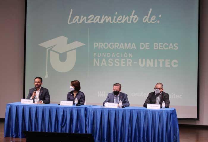 Fundación Nasser y UNITEC ofrecen becas a hondureños