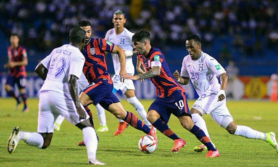 Resultado del partido Honduras vs Estados Unidos, rumbo a Catar 2022
