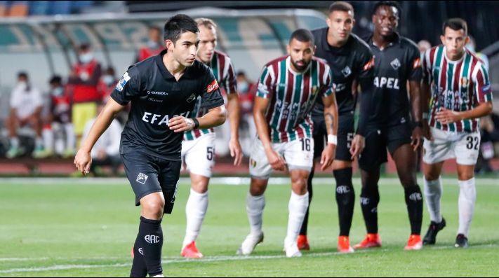 Jonathan Rubio anota su primer gol con el Académica de Portugal