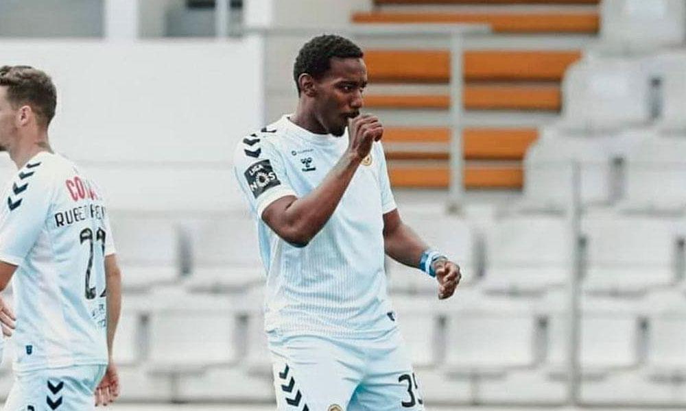 Tercer gol de Bryan Róchez con el Nacional de Madeira