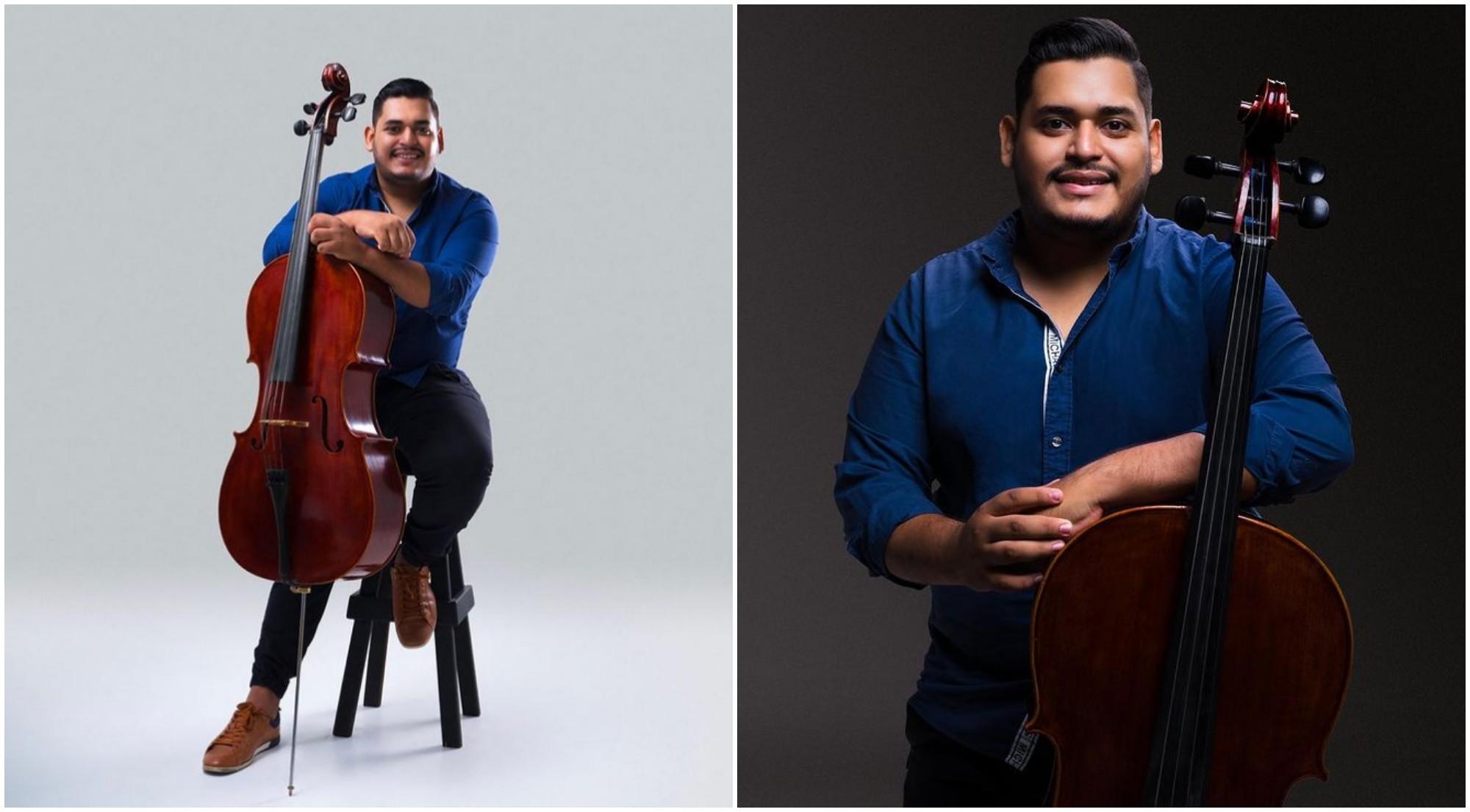 Cellista hondureño Walter Herrera, lanza su primer sencillo