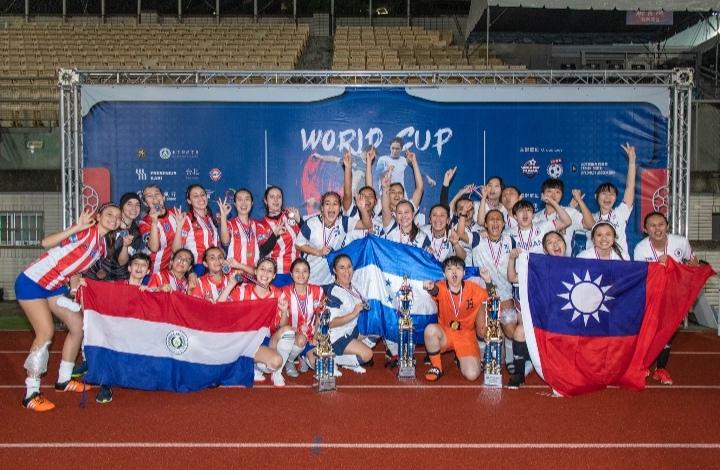 Selección femenil de Honduras, campeona de la Copa Mundial de Taiwán