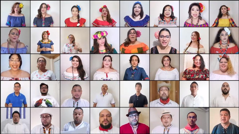 El Coro Virtual de Honduras destaca por su increíble talento
