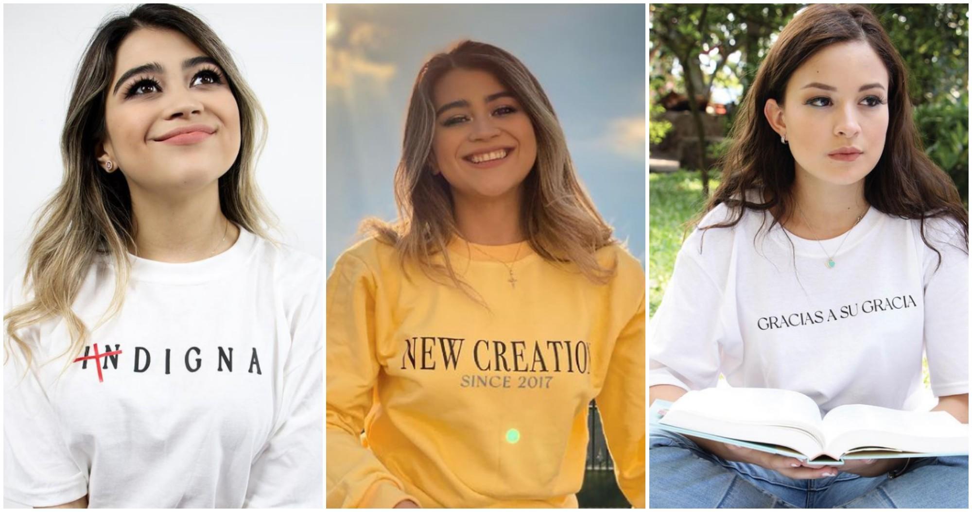 Hondureña crea su propia marca de ropa inspirada en Dios