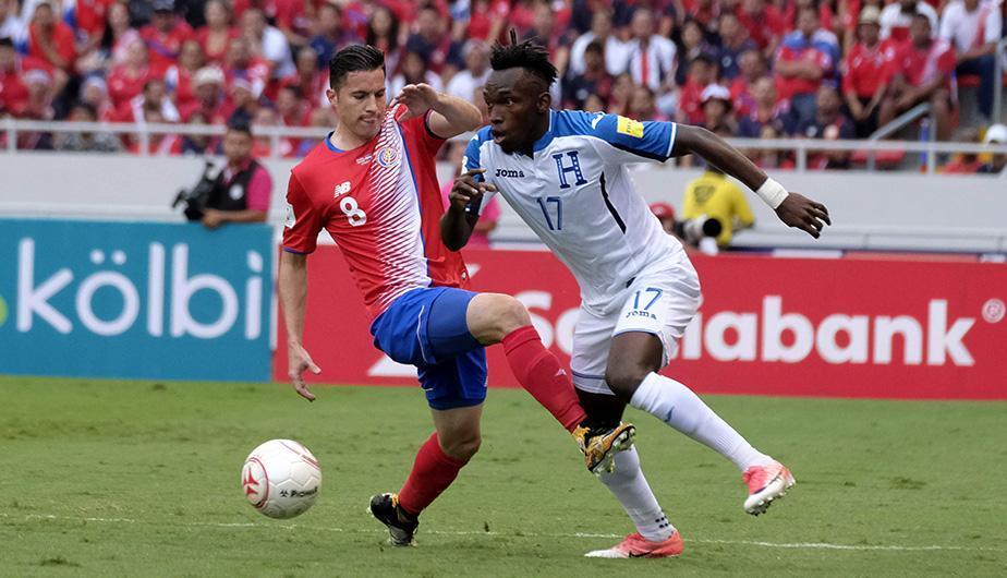 Honduras lidera serie histórica ante Costa Rica en eliminatorias