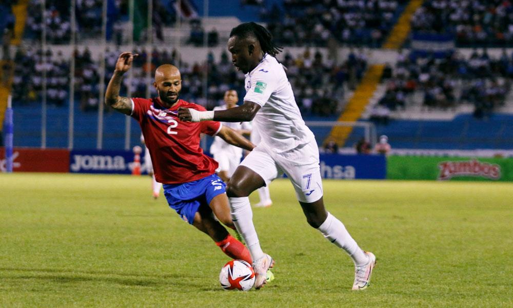 Resultado del partido Honduras vs Costa Rica, rumbo a Catar 2022