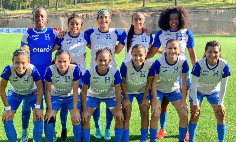 Selección femenil de Honduras triunfa en partido amistoso de preparación