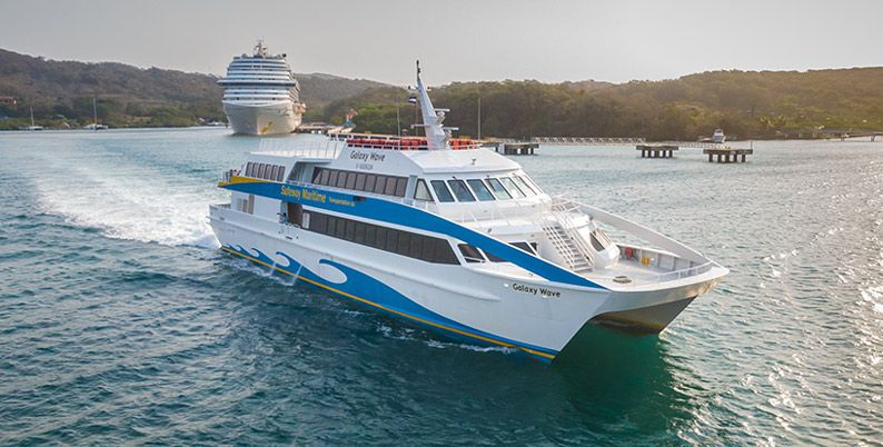 Ferry Galaxy viajará de Roatán a Guanaja a partir de noviembre