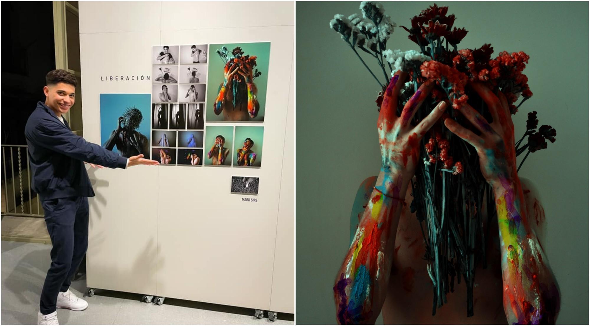 Hondureño destaca en exposición de fotografía en Barcelona