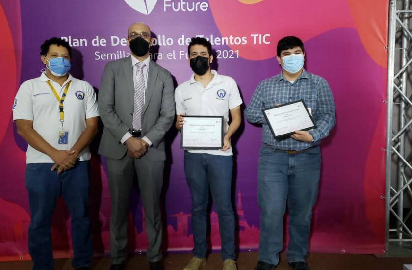 Hondureño entre el top 3 en concurso latinoamericano de Huawei