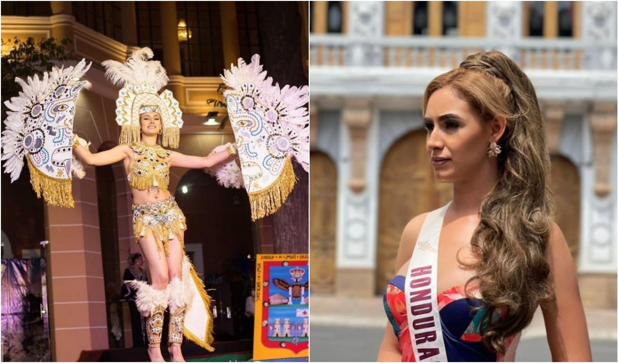 Hondureña luce un traje del Dios Mono en Reina Hispanoamericana