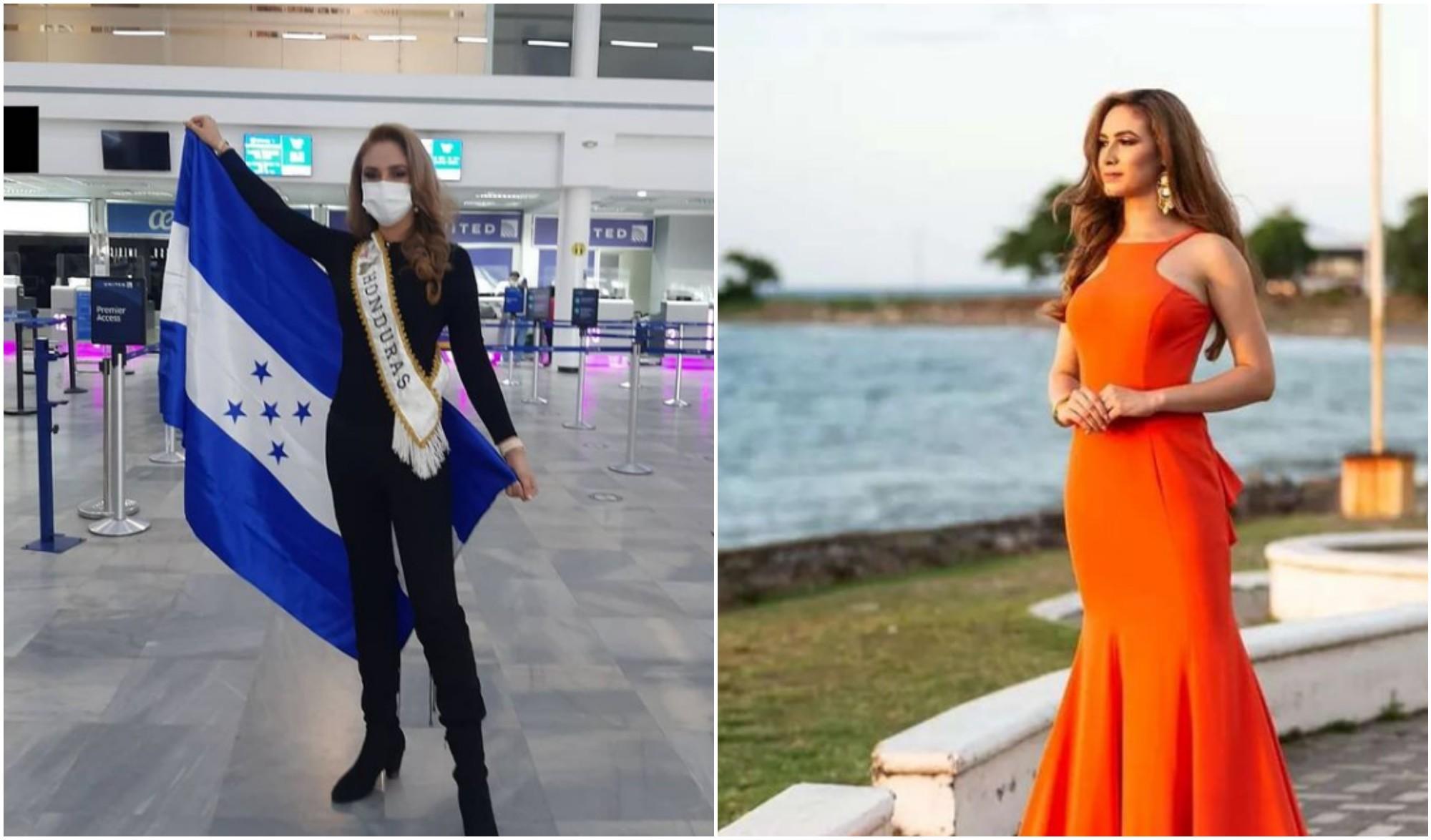 La Reina Hispanoamericana de Honduras ya se encuentra en Bolivia