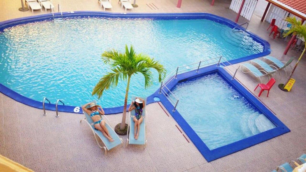 Hotel Partenón Beach en la zona viva de La Ceiba