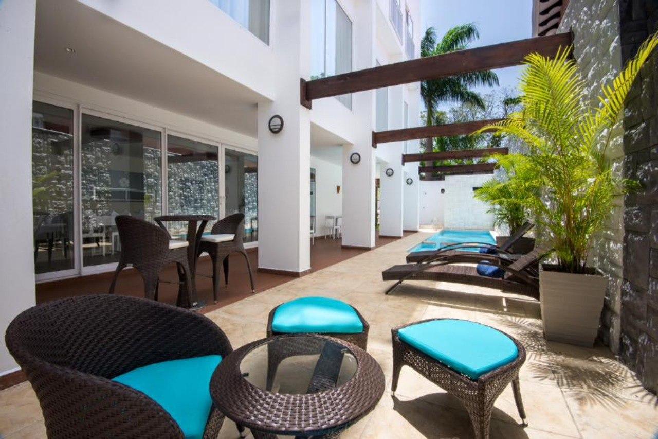 Hotel Latitud 15° en San Pedro Sula