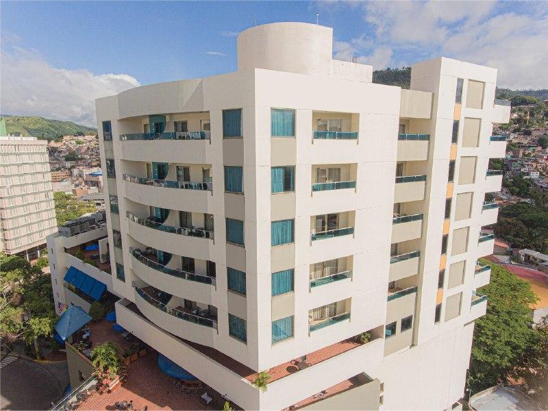 Hotel Plaza Juan Carlos en la ciudad de Tegucigalpa