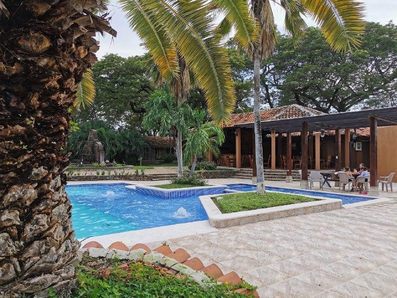 Hotel y Hacienda Gualiqueme en la ciudad de Choluteca