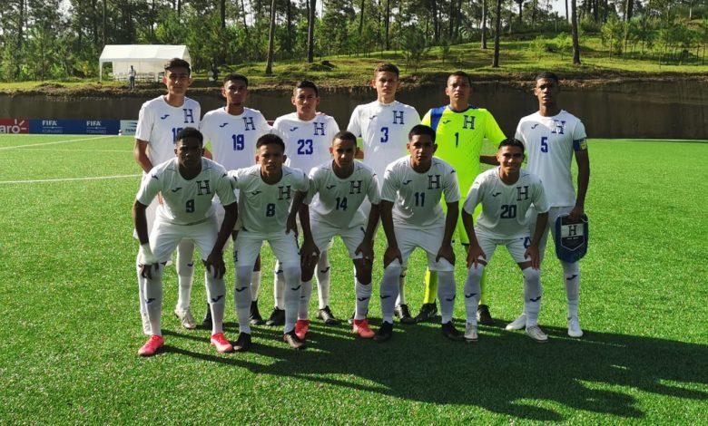 Selección Sub-18 de Honduras derrota en doble partido a Nicaragua